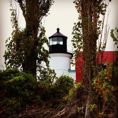 The Point Betsie Lighthouse.