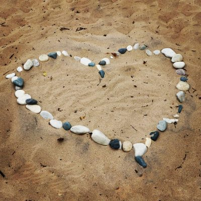 Love upon the beach.